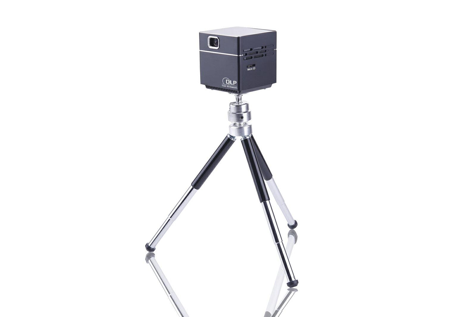 【セット品】スピーカー内蔵小型プロジェクターPico Cube+ぴったり収納ポーチ
