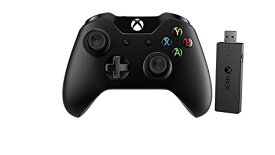 【次使える5%クーポン配付中】【送料無料 期間限定】マイクロソフト Xbox Oneコントローラー ワイヤレスアダプター付き for Windows10(並行輸入品)