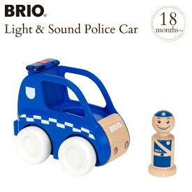 BRIO MY HOME TOWN(ブリオ) ライト&サウンド付きポリスカー 30377 BRIO(ブリオ)