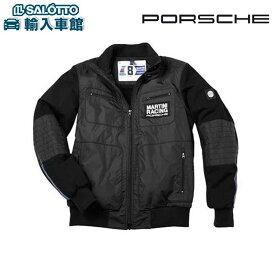【 ポルシェ 純正 】 メンズ ナイロン ミックス ジャケット XLサイズ マルティーニ レーシング スポーツ ジム アウトドア Porsche オリジナル アクセサリー