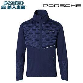 【 ポルシェ 純正 】メンズジャケット スポーツ コレクション ライトブルー 軽量 ソフトシェル ポリエステル100% スポーツ ジム アウトドア ジャケット ゴルフ Porsche オリジナル アクセサリー