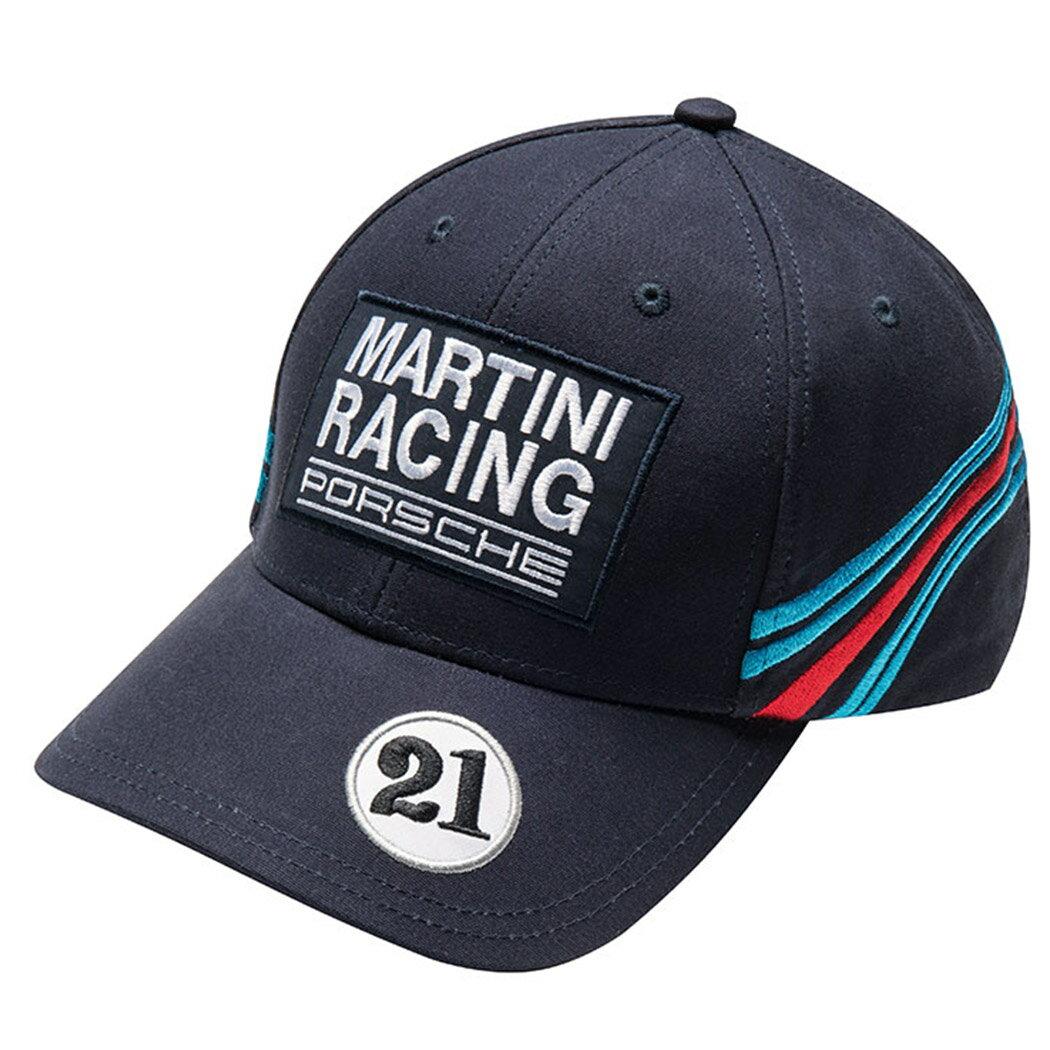 【 ポルシェ 純正 値引クーポン対象 】 ベースボールキャップ – マルティーニ・レーシング porsche Baseball Cap キャップ 帽子 カラー:ブラック / マルティーニ Martini