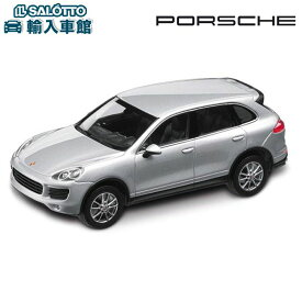 【 ポルシェ 純正 クーポン対象 】 モデルカー 958 カイエン E2 ロジウムシルバーメタリック ブラックインテリア スケール:1/43 V6 CAYENNEミニチャンプ Minichamps製 ミニカー トイカー Porsche Design