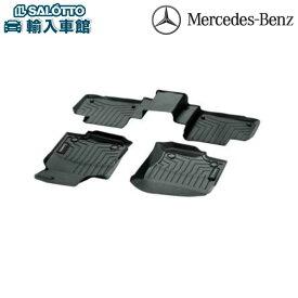 【 ベンツ 純正 クーポン対象 】GLEクラス W166 C292 右ハンドル専用 ラバーマットブラック 前後左右セット フロアマット 防水マット ウェザーマット カーマット ラバーマット Mercedes Benz オリジナル アクセサリー