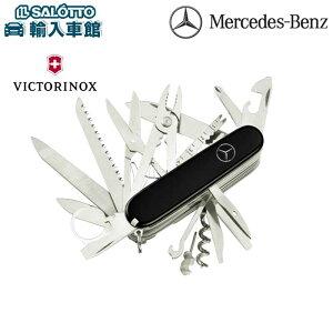 【 ベンツ 純正 クーポン対象 】 ビクトリノックス スイスチャンプナイフ 全長9.1cm VICTORINOX スイスアーミーナイフ スイスナイフ 徳ナイフ 130年以上にわたり卓越した品質 キャンプ ナイフ 33