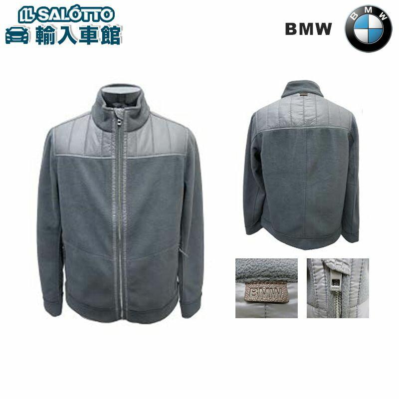 【 BMW 純正 】 フリース ジャケット ( メンズ ) カラー:グレー/ミックスグレー