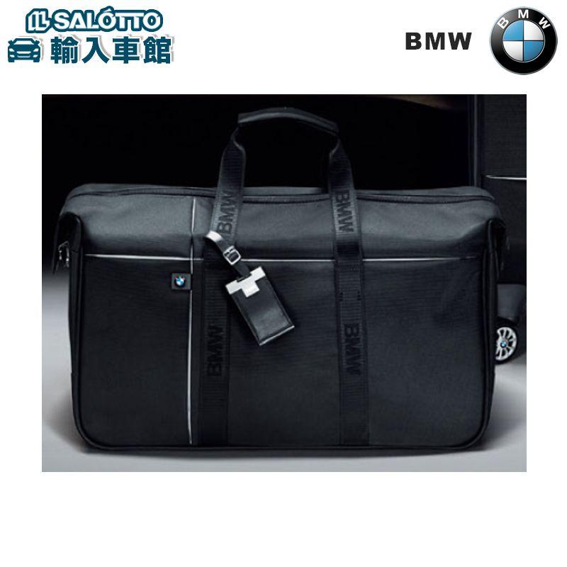 【 BMW 純正 クーポン対象 】 ウィークエンダー ダッフルバッグ レザー カラー:ブラック サイズ:約36×56×30cm 本革にはBMW刻印入り 取り外し可能なショルダー・ストラップ