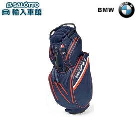 【 BMW 純正 クーポン対象 】 キャディ バッグ 約92x37cm 2.7kg ネイビー ブルー / ファイア オレンジ / ホワイト Golfsport Collection