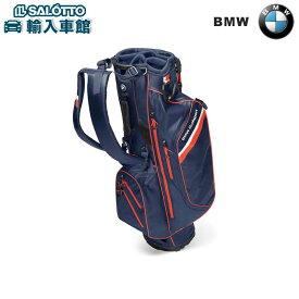 【 BMW 純正 クーポン対象 】 ゴルフ バッグ 約90x41cm 2.5kg ネイビー ブルー / ファイア オレンジ / ホワイト Golfsport Collection