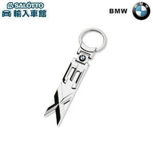 【 BMW 純正 クーポン対象 】 キーリング/BMW X3BMWのカラー・ロゴを埋め込んだデザイン・モチーフ。ドイツ製