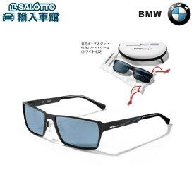 【 BMW 純正 クーポン対象 】 サングラス カラー:ブラック BMWロゴ入り専用ケース付き 素材:フレーム/プラスチック、レンズ/飛散防止素材