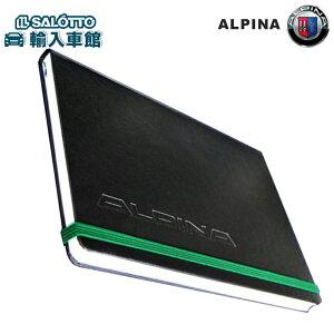 【 アルピナ 純正 クーポン対象 】 ノートブック A5 サイズ レザー トップ ブルーの罫線 BMW トップチューナー ALPINA