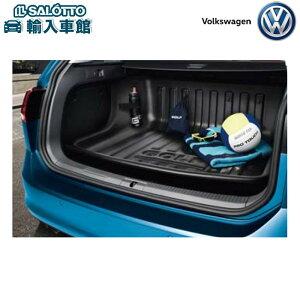 【 VW 純正 クーポン対象 】ラゲージライナー 防水性 ラゲージルーム全体をカバーする一体成型タイプの大型トレーGolf Variant