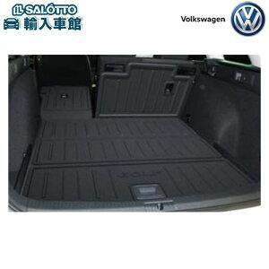 【 VW 純正 クーポン対象 】ラゲージトレー(ロング)(カラー:ブラック)GOLFロゴ入り 防水加工 リヤシートや積載物の保護にもGolf Variant