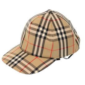 【7月目玉+PT5倍】バーバリー/BURBERRYロゴアップリケ ヴィンテージチェック ベースボールキャップ・トラッカーキャップ・帽子(アーカイブベージュ)8026929 A7026/ARCHIVE BEIGE