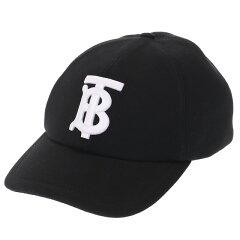 """【ポイント5倍】バーバリー/BURBERRY""""MHBASEBALLCAP・ベースボールキャップ""""ロゴアップリケトラッカーキャップ・帽子(ブラック)8038141A1189/BLACK"""