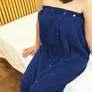 今治産 バスローブ 巻きタオル (女性) 国産 レディース ラップドレス タオル ( 日本製 国産 今治製) 刺繍は要別途料金