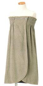 今治タオル バスローブ イデゾラ ラップドレス 袋入 idee Zora イデゾラ タオルのラップドレス (ギフト 今治タオルブランド認定 日本製 国産 今治製) 刺繍は要別途料金