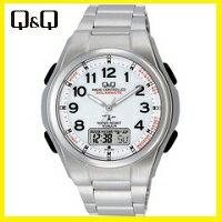 【送料無料】シチズン CITIZEN Q&Q 電波ソーラー腕時計 MD02-204【楽ギフ_包装】