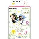 FUJIFILM・フジフィルム キティ3 インスタントカメラ チェキ用フィルム インスタントカラーフィルム instax mini ハロ…