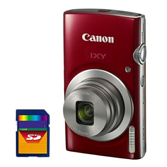 【送料無料】【SDHCカード8GB付き】キヤノン Canon IXY200RED デジカメ イクシー IXY200 約2000万画素 光学8倍ズーム IXY 200RD レッド【楽ギフ_包装】【***特別価格***】