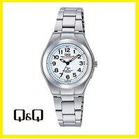 【送料無料】シチズン CITIZEN Q&Q レディース 電波ソーラー腕時計 HJ01-204【楽ギフ_包装】【***特別価格***】