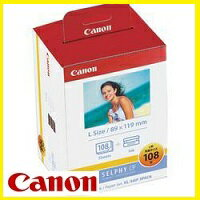 Canon・キヤノン セルフィCP900・CP910・CP1200・CP1300用インクペーパー Lサイズ(89×119mm) KL-36IP 3P 108枚