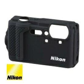 ニコン Nikon COOLPIX W300対応 シリコンジャケット CF-CP3 ブラック