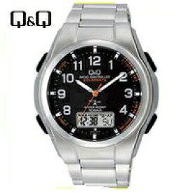 【送料無料】シチズン CITIZEN Q&Q 世界5局 電波ソーラー腕時計 MD02-205【楽ギフ_包装】【***特別価格***】