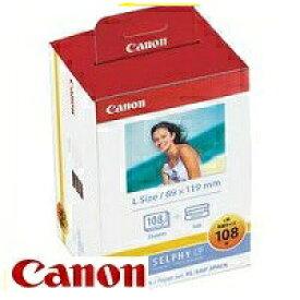 Canon・キヤノン KL-36IP 3P セルフィCP900・CP910・CP1200・CP1300用インクペーパー Lサイズ(89×119mm) KL-36IP 3P 108枚 【スーパーロジ】【あす楽対応】