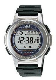 1/31までポイント2倍【送料無料】CITIZEN・シチズン時計Q&Q 電波ソーラー腕時計 MHS5-300【楽ギフ_包装】【***特別価格***】