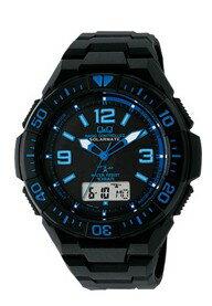人気の電波時計【ラッピング無料】シチズン時計 Q&Q 電波ソーラー腕時計 MD06-335【楽ギフ_包装】【***特別価格***】
