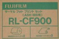 【送料無料】FUJIFILM・フジフィルム サーマルフォトプリントセット(ペーパー+インクリボン各2ロールのセット)Lサイズ用900枚 T RL-CF900【楽ギフ_包装】