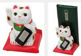 【ラッピング無料】セトクラフト スマホスタンド 招き猫 SR-2054-150【楽ギフ_包装】