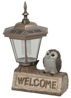 【送料無料】SETOCRAFT・セトクラフト 幸運を呼ぶ鳥フクロウ ソーラーライト(オウル) SR-2101-850【楽ギフ_包装】【***特別価格***】