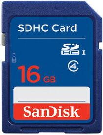 SANDISK・サンディスク 海外パッケージ SDHCカード16GB Class4 クラス4 SDSDB-016G-B35【***特別価格***】