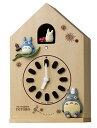6/30までポイント2倍【送料無料】RHYTHM・リズム時計 掛け置き兼用時計 となりのトトロ トトロM899 4MH899-M06【楽ギフ_包装】