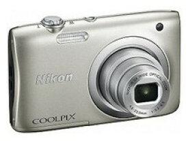 【送料無料】Nicon・ニコン デジカメ COOLPIX A100 シルバー【COOLPIX S2900後継機】【楽ギフ_包装】【***特別価格***】