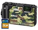 【送料無料】Nicon・ニコン GPS搭載 水深30M防水デジカメ COOLPIX W300 カムフラージュ【***特別価格***】【楽ギフ_包装】