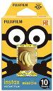 FUJIFILM・フジフィルム インスタントカメラ チェキ用フィルム インスタントカラーフィルム instax mini ミニオン 通常版 INSTAX MIN...