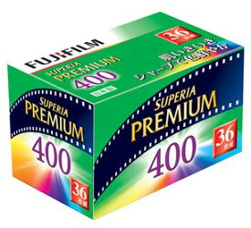 FUJIFILM・フジフィルム フジカラー SUPERIA PREMIUM 400 36枚撮り【楽ギフ_包装】