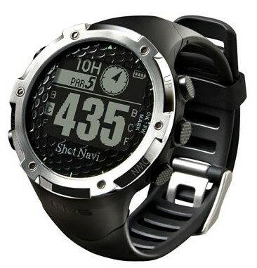 ポイント11倍【送料無料】ShotNavi・ショットナビ ゴルフ計測 ゴルフナビ腕時計タイプ W1 W1-FW(B) 【楽ギフ_包装】【***特別価格***】