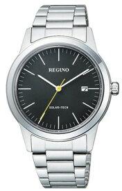 【送料無料】シチズン時計 REGUNO・レグノ メンズシンプルなソーラー時計 KM3-116-53 ペア【楽ギフ_包装】