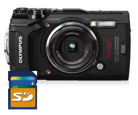 SDHCカード8GB付き【送料無料】オリンパス OLYMPUS 工事現場の必需品 工事写真現場用デジタルカメラ TG-5 工一郎【***特別価格***】