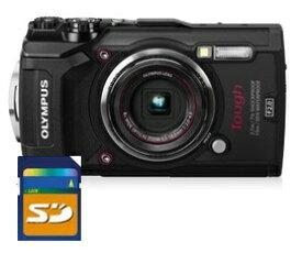 SDHCカード8GB付き【送料無料】オリンパス OLYMPUS TG-5工一郎 工事現場の必需品 工事写真現場用デジタルカメラ TG-5 工一郎【***特別価格***】