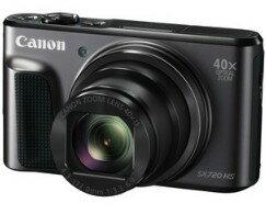 【送料無料】Canon・キヤノン 光学40倍ズームデジカメ PowerShot SX720 HS ブラック【楽ギフ_包装】【***特別価格***】
