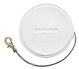 OLYMPUS・オリンパス E-PL7 E-PL8 E-PL9用 本革レンズジャケット LC-60.5GL ホワイト【楽ギフ_包装】【***特別価格***】
