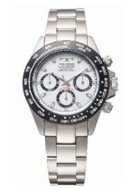 【送料無料】TECHNOS SWISS オールステンレス テクノス男性用クロノグラフ腕時計 TSM411TW【楽ギフ_包装】