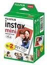 FUJIFILM・フジフィルム インスタントカメラ チェキフィルム 2P instax mini 2P INSTAX MINI JP 2【楽ギフ_包装】