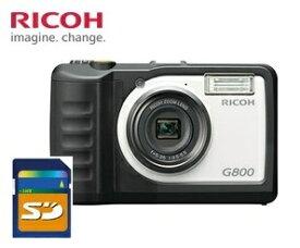 【送料無料】リコー RICOH 防水 防塵 耐衝撃 業務用 現場仕様 デジタルカメラG800【楽ギフ_包装】【***特別価格***】